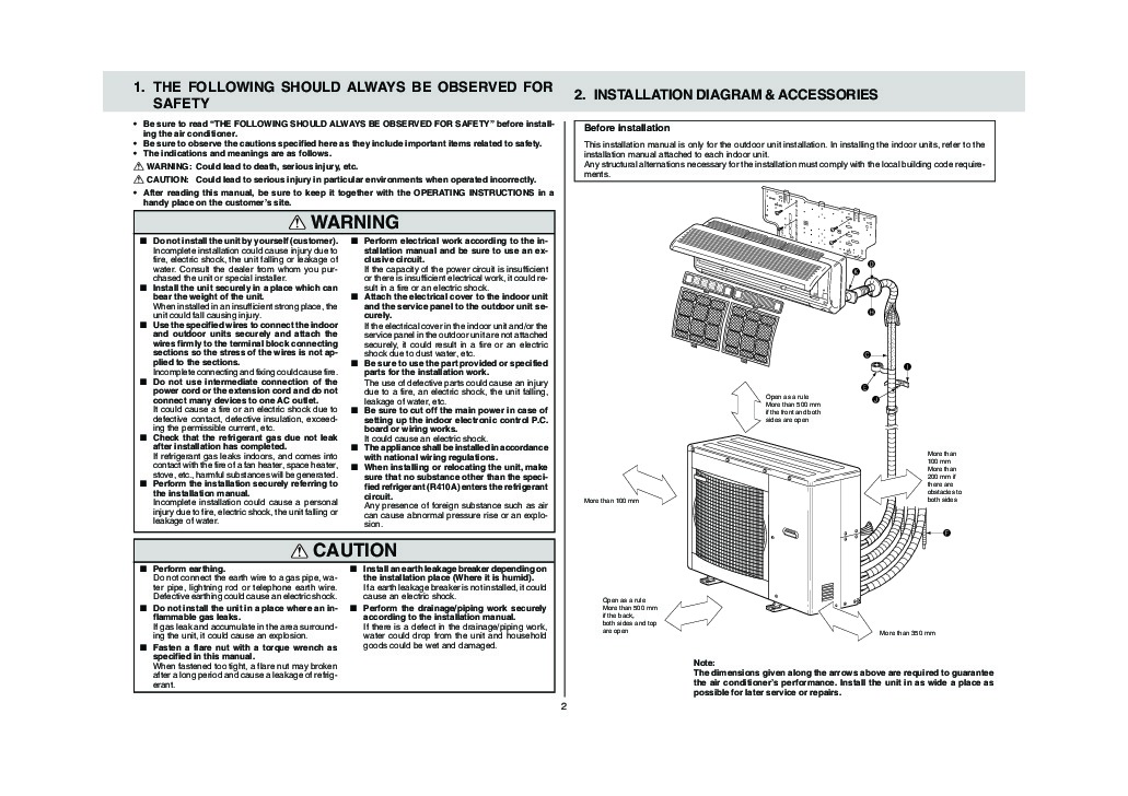 mitsubishi mxz 4a80va air conditioner installation manual mitsubishi mxz 8b48na wiring diagram