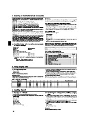 Mitsubishi Mr Slim SEZ KD25 KD35 KD50 KD60 KD71VAL Ducted Air ConditionerInstallation Manual Owners Manual page 10