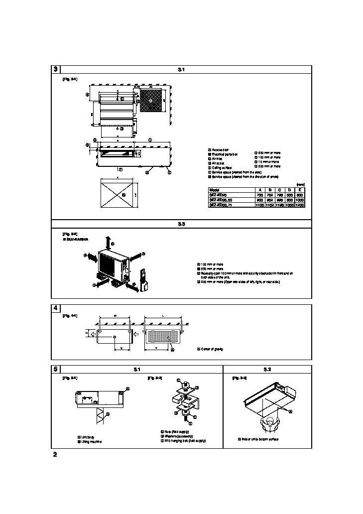 installation manual for mitsubishi mr slim