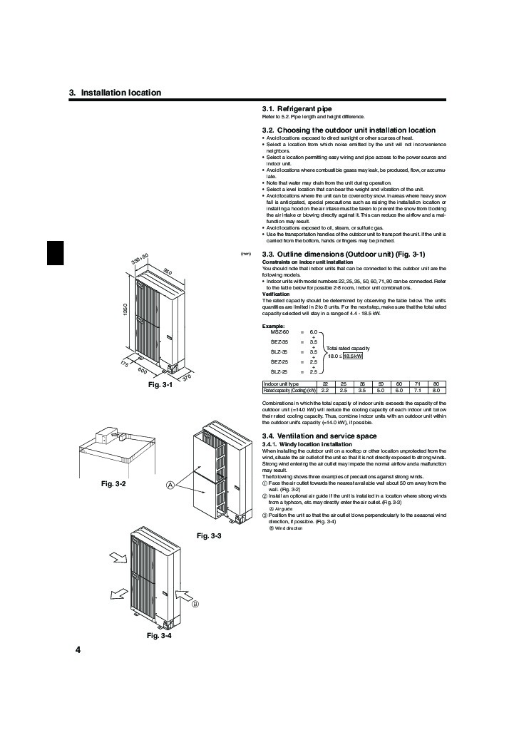mitsubishi mr slim pea mxz 8a140va air conditioner