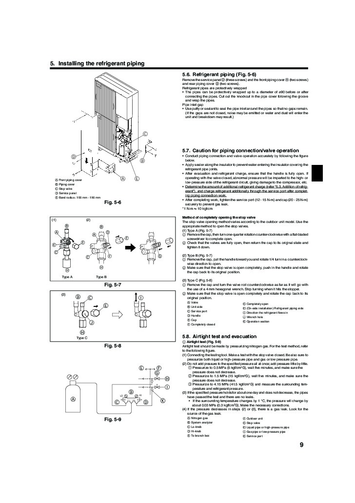 Mr Slim R 410a Wiring Diagram - Wiring Diagram G11 Air Conditioning Mitsubishi Mr Slim Wiring Diagram on