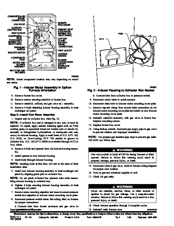 Carrier M Si Gas Furnace Owners Manual on Wiring Diagrams Further Honeywell Vent D Er Diagram