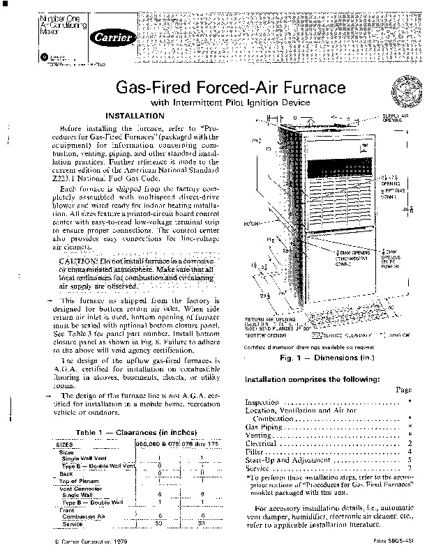 carrier 58gs 4si gas furnace owners manual rh needmanual com