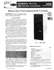 Carrier 58SS 6SI Gas Furnace Owners Manual page 1