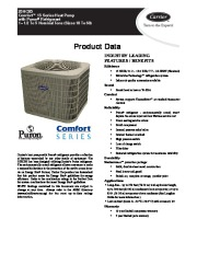 Carrier 25hcb5 2pd Heat Air Conditioner Manual page 1