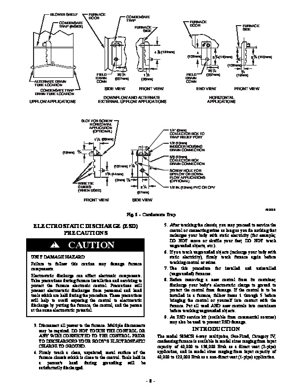 carrier 58mcb 2si gas furnace owners manual Carrier Twinning Kit Carrier 58 Series Furnace Parts