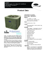 Carrier 24apa7 4pd Heat Air Conditioner Manual page 1
