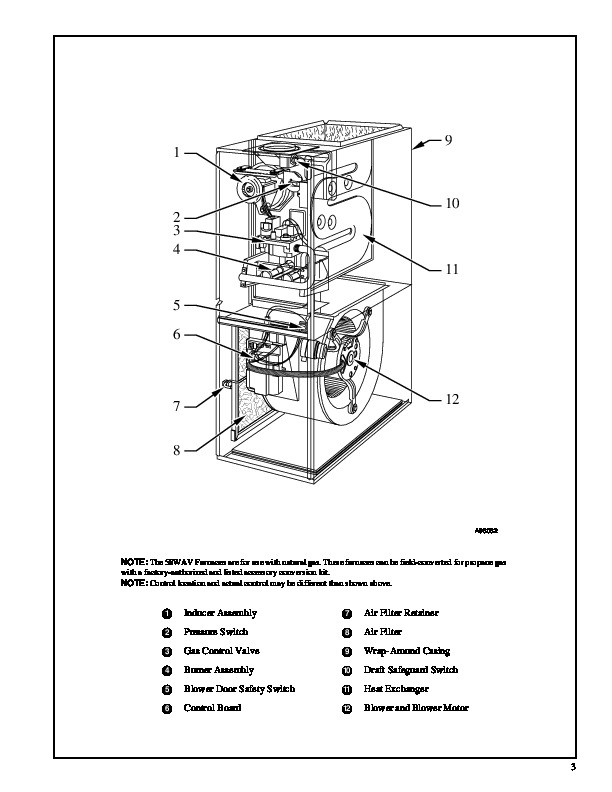 Carrier 58WAV 9PD Gas Furnace Owners Manual 3 carrier 58wav 9pd gas furnace owners manual carrier weathermaker 8000 wiring diagram at reclaimingppi.co