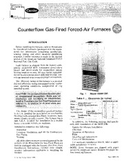 Carrier 58DP 58DR 2SI Gas Furnace Owners Manual page 1