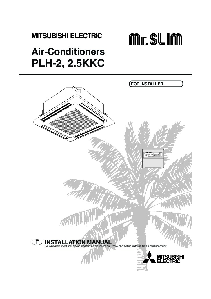 mitsubishi mr slim bg79s983h01 plh 2 2 5kkc ceiling cassette air rh needmanual com mr slim mitsubishi manual mr slim mitsubishi manuel