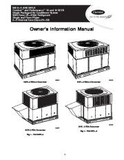 Carrier 50es Vl 02 Heat Air Conditioner Manual page 1