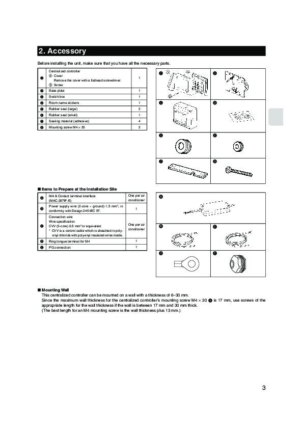 Mitsubishi Electric Mr Slim Remote Manual