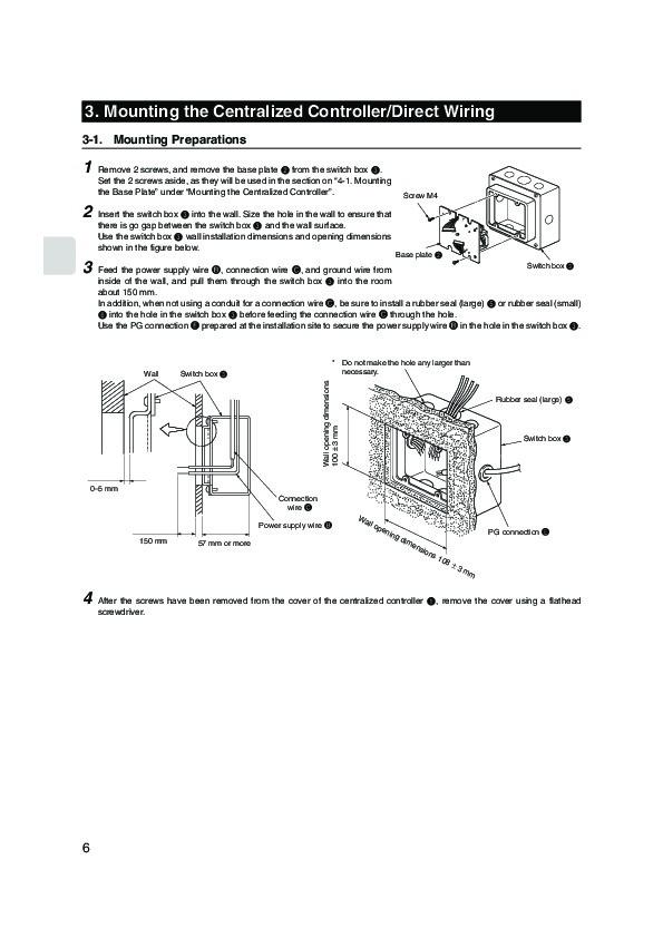 Mitsubishi mac 821sc e remote controller air conditioner mitsubishi mac 821sc e remote controller air conditioner installation manual page 6 publicscrutiny Images