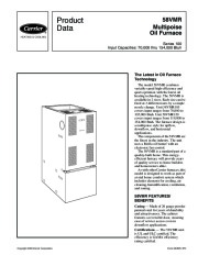 Carrier 58VMR 1PD Gas Furnace Owners Manual page 1