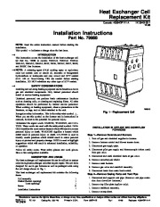 Carrier 58DP 1SI Gas Furnace Owners Manual page 1