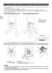 Mitsubishi MAC 399IF E Air Conditioner Installation Manual Owners Manual page 8