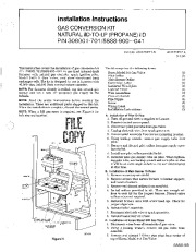 Carrier 58SS 5SI Gas Furnace Owners Manual page 1