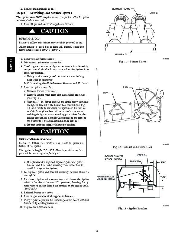 carrier 58mcb 3sm gas furnace owners manual Carrier Furnace MCB Carrier Furnace MCB