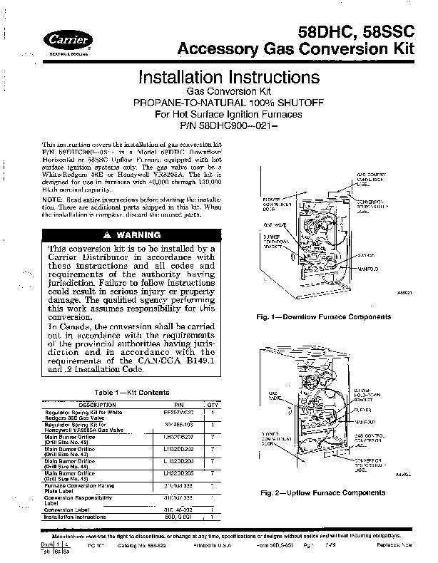 carrier 58d 58s 8si gas furnace owners manual rh needmanual com