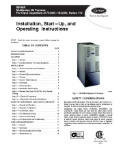 Carrier 58VMR 4SI Gas Furnace Owners Manual page 1