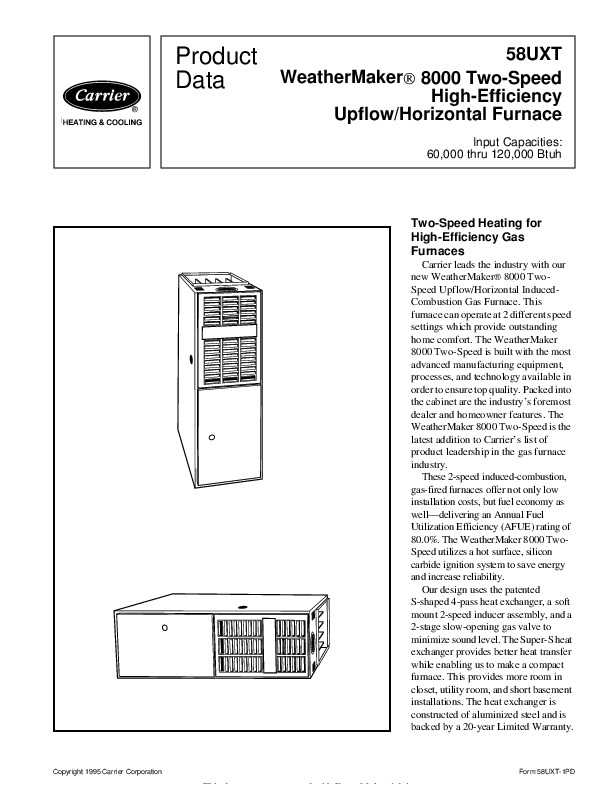 Carrier Weathermaker Parts Diagram Weathermaker York Furnace Parts Diagram L Da D A F E F likewise Installation And Service Manuals For Heating Heat Pump And Air In Rheem Heat Pump Parts Diagram together with Sullivan Heating Cooling Residential Services Services Carrier Furnace Filter Location S B B Cfa E additionally F in addition D Carrier Weathermaker Mid Efficiency Wav Upflow Loss Flame Carrier Wav. on carrier weathermaker 8000 furnace