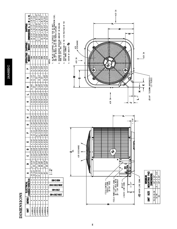 carrier 24abb3 c 1pd heat air conditioner manual