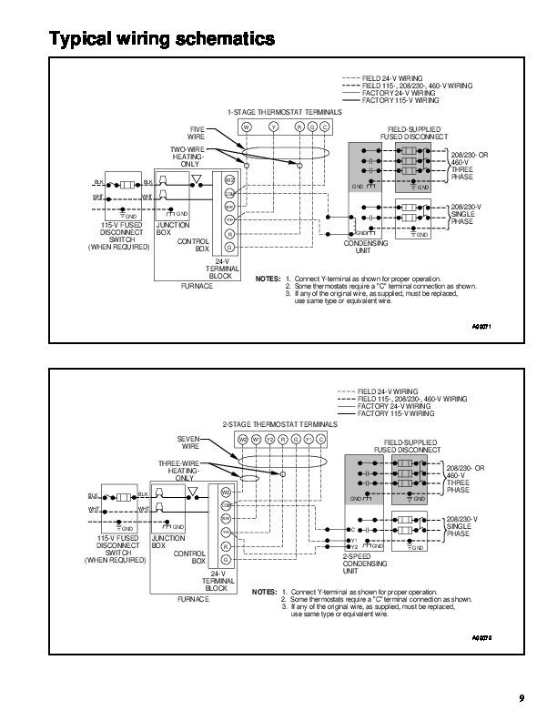 Carrier 58tua Parts Manual