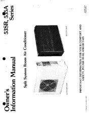 Carrier 53 1 Heat Air Conditioner Manual page 1