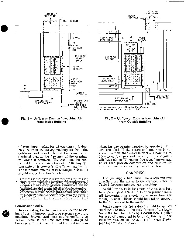 Luxaire Furnace Owners Manual