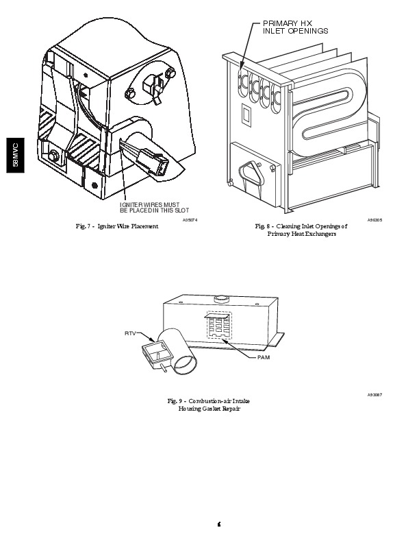 Carrier Condensing Gas Furnace owners Manual