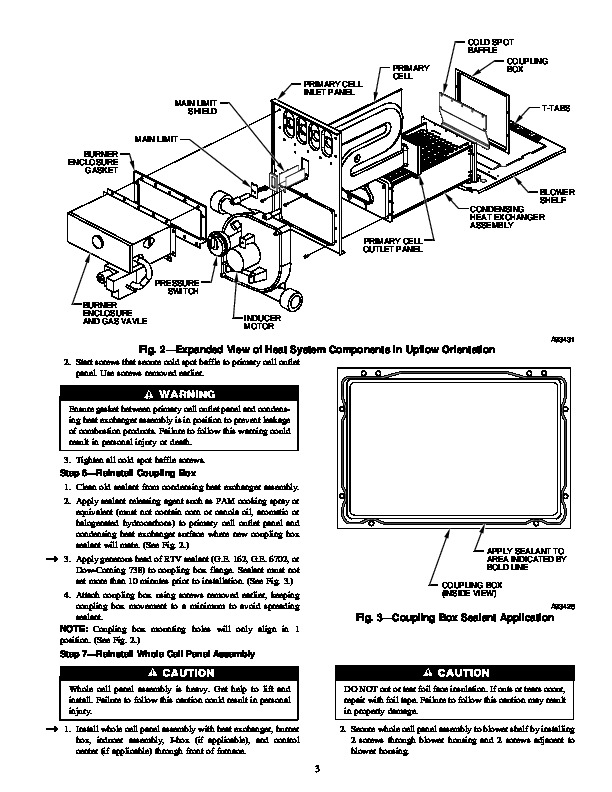 carrier 58m 35si gas furnace owners manual