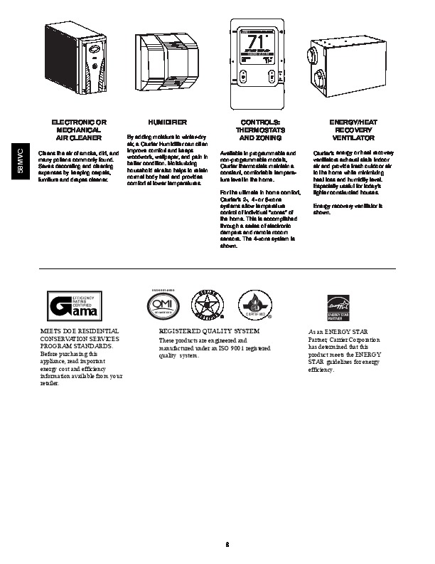 Carrier 58mvc 1pd Gas Furnace Owners Manual