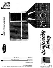 Carrier 51 115 Heat Air Conditioner Manual page 1