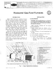 Carrier 58SG 4SI Gas Furnace Owners Manual page 1