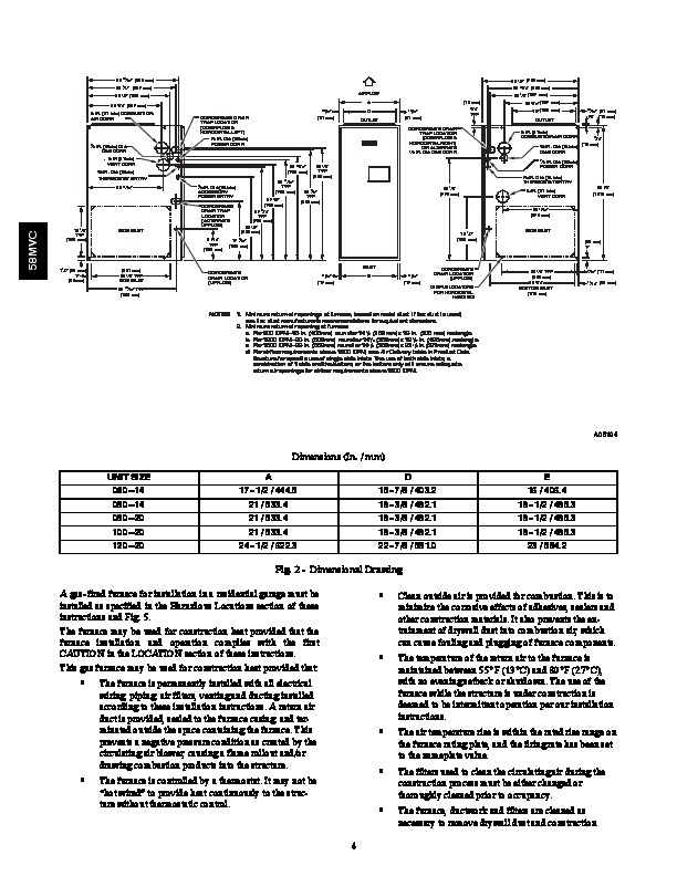 Carrier 58mvc 3si Gas Furnace Owners Manual