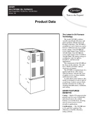 Carrier 58VMR 2PD Gas Furnace Owners Manual page 1
