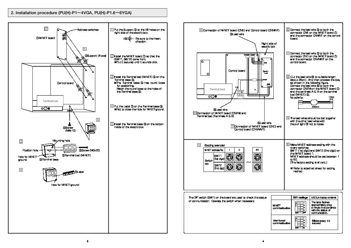 mitsubishi rg79b202g03 air conditioner installation manual. Black Bedroom Furniture Sets. Home Design Ideas