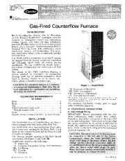 Carrier 58DS 3SI Gas Furnace Owners Manual page 1